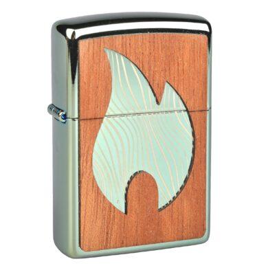 Zapalovač Zippo Woodchuck Large Flame, vysoký lesk(Z 268771)