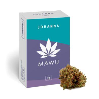 Mawu CBD Johanna 2g - náplň do vonné lampy                                      (MW2J)