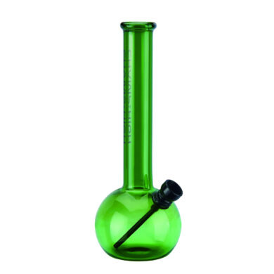 Skleněný bong Champ High Round Green 20cm(506143)