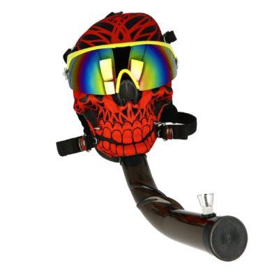 Akrylový bong Maska Super Heroes červený(344472)