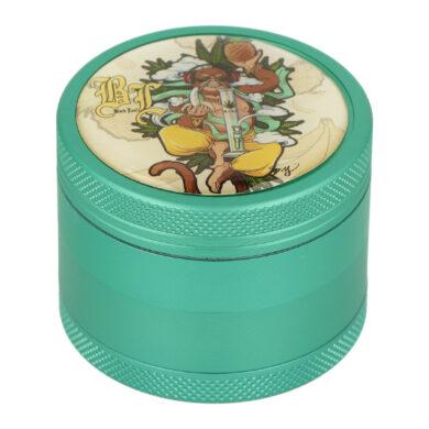 Drtič tabáku Black Leaf Hanuman ALU kovový, 50mm(430209-8)