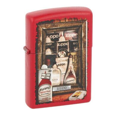 Zapalovač Zippo Fuel Cans, matný(Z 140009S)