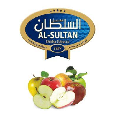 Tabák do vodní dýmky Al-Sultan 5 Apples (3), 50g/F(1996F)
