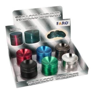 Drtič tabáku kovový colored, 50mm(07003)