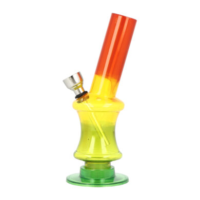 Bong Mini akryl (plast) 15cm, zalomený(344390)