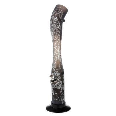 Bong Dragon akryl (plast) 41cm, černý(344462)