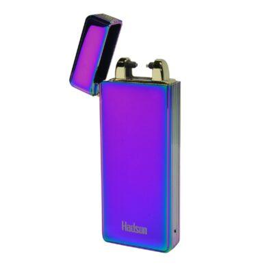 USB zapalovač Hadson Percy Arc, el. oblouk, duhový(10402)