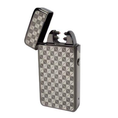 USB zapalovač Hadson Anemoi Arc, el. oblouk, gunmetal(10421)