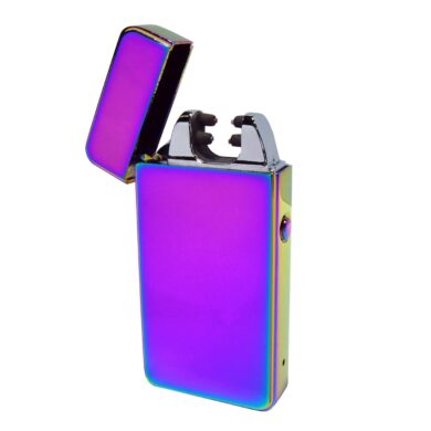 USB zapalovač Hadson Anemoi Arc, el. oblouk, duhový(10422)