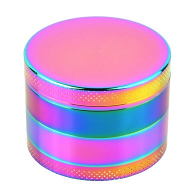 Drtič tabáku kovový Rainbow, 55mm, 6set(590346)