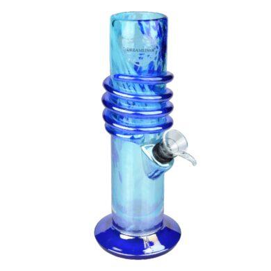 Bong sklo Dreamliner Spin blue 22cm(345690)