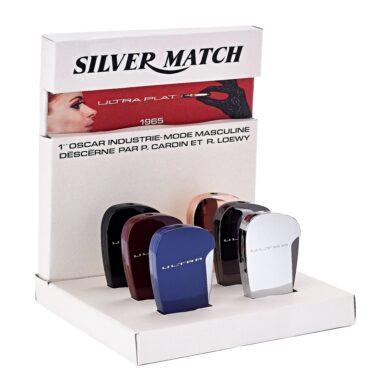 Zapalovač Silver Match Ultra Lighter, 6mix(674230)