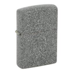 Zapalovač Zippo Iron Stone, matný-Benzínový zapalovač Zippo Iron Stone 2003173. Zapalovač Zippo s tvrdě matným povrchem je dodávaný v originální krabičce s logem. Zapalovače Zippo nejsou při dodání naplněné benzínem. Správné fungování zapalovače zajistíte originálním příslušenstvím: benzín Zippo 3141 Fluid, kamínky Zippo Flint, knoty Zippo Wick a vata do zapalovače Zippo.