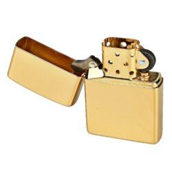 Zapalovač Zippo Solid Brass Polished, leštěný(Z 240029)