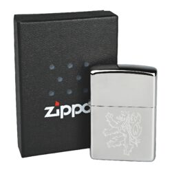 Zapalovač Zippo Český lev, leštěný(Z 220496)