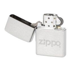 Zapalovač Zippo Logo Matt, broušený(Z 210817)