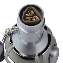 Doutníkový zapalovač Eurojet Grenade stříbrný(270011)
