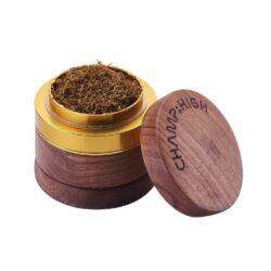 Drtič na tabák Champ High dřevěný 60mm(506104)