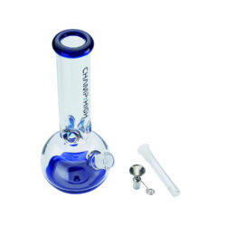 Skleněný bong Champ High Blue Ice 30cm  (506145)