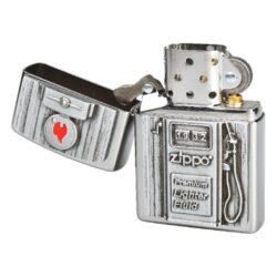 Zapalovač Zippo Gas Pump, patinovaný(Z 151590)
