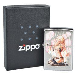Zapalovač Zippo Olivia, patina(Z 180011)