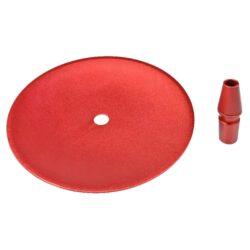 Vodní dýmka Catcher červená 66cm(30535)