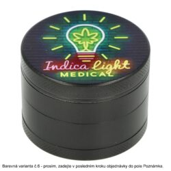 Drtič tabáku kovový WildFire Neon, 50mm(31232)