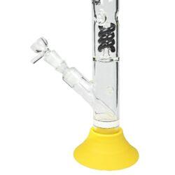 Skleněný bong s perkolací Dope Bros Silicon base 42cm(02942BK-S)