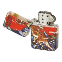 Benzínový zapalovač Angel Tiger, box(240002)