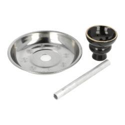 Vodní dýmka Kev stříbrná 55cm(30501)
