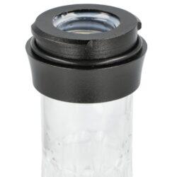 Vodní dýmka Aladin Rachel ALU Black 47cm(446431)