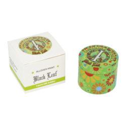 Drtič tabáku Black Leaf ALU kovový, 54mm(4302204)