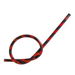 Náhradní hadice silikonová (šlauch) pro vodní dýmku B/R, 1,5m-Náhradní silikonová hadice (šlauch) DUD pro vodní dýmky v černo červeném provedení. Silikonový šlauch je nejlepší volbou pro hadici moderních vodních dýmek. Hadice je vyrobena z velmi kvalitního silikonu používaného v potravinářství. Silikonová hadice se dá zcela proplachovat a omývat pouze obyčejnou vodou. Tímto se dokonale zbaví vnitřek i venek hadice všech nečistot. Její údržba je velmi jednoduchá.  Délka hadice: 1,5 m Vnitřní průměr hadice: 1,2 cm Vnější průměr hadice: 1,7 cm