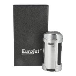 Doutníkový zapalovač Eurojet Hamar 4xJet, chrom(224150)