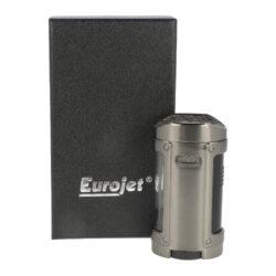 Doutníkový zapalovač Eurojet Hamar 4xJet, antracit(224160)