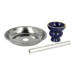 Vodní dýmka Round1 Blue 55cm(40092)