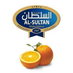 Tabák do vodní dýmky Al-Sultan Orange (66), 50g/F-Tabák do vodní dýmky Al-Sultan Orange s příchutí pomeranče. Tabáky Al-Sultan vyráběné v Jordánsku jsou známé svojí šťavnatostí, skvělou vůní, chutí a bohatým dýmem. Tabák do vodní dýmky je dodávaný v papírové krabičce po 50g.