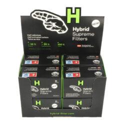 Cigaretové filtry Hybrid Supreme, 6,4mm(05075)