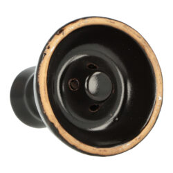 Náhradní korunka pro vodní dýmku keramická, černá, 23mm(30806)