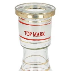 Vodní dýmka Top Mark Sokar červená 53cm(002004)
