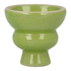 Náhradní korunka pro vodní dýmku, keramická, zelená, 19mm(30802)