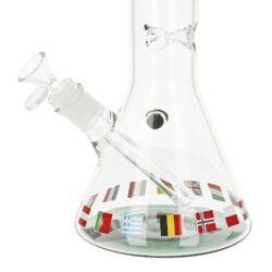 Skleněný bong Black Leaf Europmaster Flask, 40cm(2618126)
