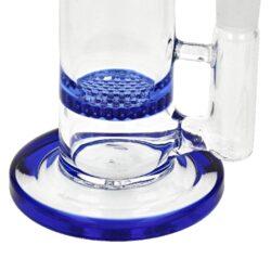 Skleněný bong s perkolací Copernicus Honey blue, 20cm(37108)