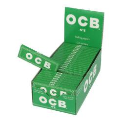 Cigaretové papírky OCB 8, 50ks-Cigaretové papírky OCB 8. Knížečka obsahuje 50ks papírků se seříznutými rohy. Rozměry papírku: 36x69mm. Prodej pouze po celém balení (displej) 50ks. Cena je uvedená za 1ks.