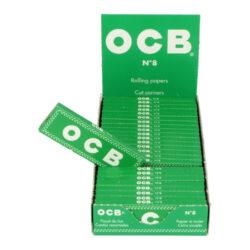 Cigaretové papírky OCB 8, 25ks(020000)