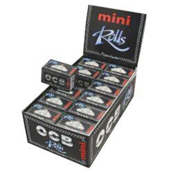 Cigaretové papírky OCB Rolls Mini-Cigaretové papírky OCB Rolls MINI. Délka 4m, šířka 36mm. Prodej pouze po celém balení (displej) 24ks.
