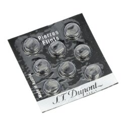 Kamínky do zapalovače S.T. DuPont Black-Originální kamínky S.T. DuPont Black do plynových kamínkových zapalovačů S.T. DuPont. Balení obsahuje 8 ks. Kamínky jsou určené pro zapalovače řady: Ligne 1, Ligne 2, Gatsby, Urban a Soubreny.