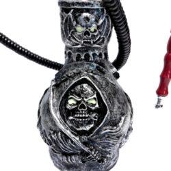 Vodní dýmka Skull 45cm černostříbrná(445361)