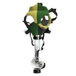 Bong Maska akryl (plast) 21cm, maskáč-Akrylový (plastový) bong Maska. Průměr otvoru v plastové části masky pro nasazení plastového bongu je 3,95 cm. Výška bongu: 21 cm Průměr bongu: 3,95 cm Materiál: akryl