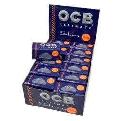 Cigaretové papírky OCB Ultimate Rolls-Cigaretové papírky OCB Ultimate Rolls. Délka 4 m, šířka 45 mm. Nejlehčí papírky s váhou pouze 10g/m2 pro ještě větší požitek. Prodej pouze po celém balení (displej) 24 ks.